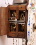 German-Black Forest-striking-alarm-Jockele-polychrome-porcelain-miniature