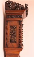 Dutch-Fromanteel-antique Clock-longcase-striking-Amsterdam-carving