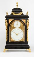 English-quarter Striking-miniature-bracket Clock-antique Clock-Mariott-