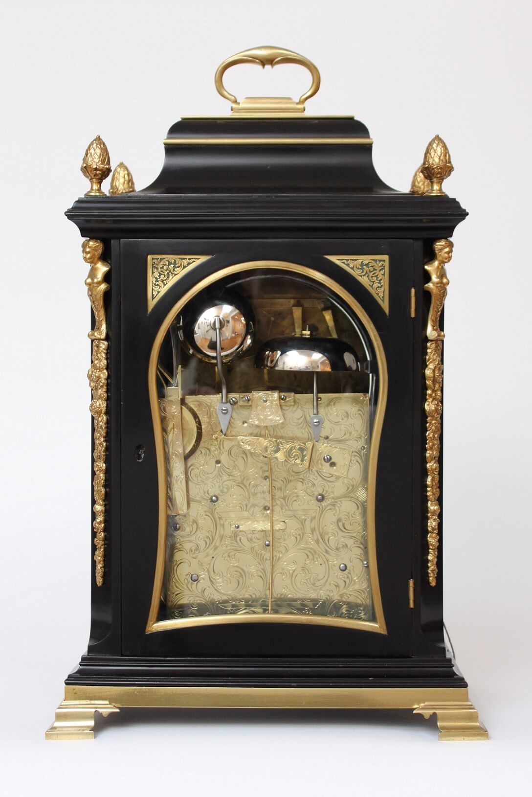 English-table Clock-antique Clock-musical-automaton-animated-Rimbault-London-striking