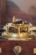 English-chronometer-rosewood-Molyneux-antique Clock-instrument-maritime