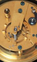 English-chronometer-rosewood-Molyneux-antique Clock-instrument-maritime