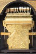 Large-Dutch-bracket- Clock-antique Clock-Kroese-Amsterdam-musical-calendar-moonphase-striking