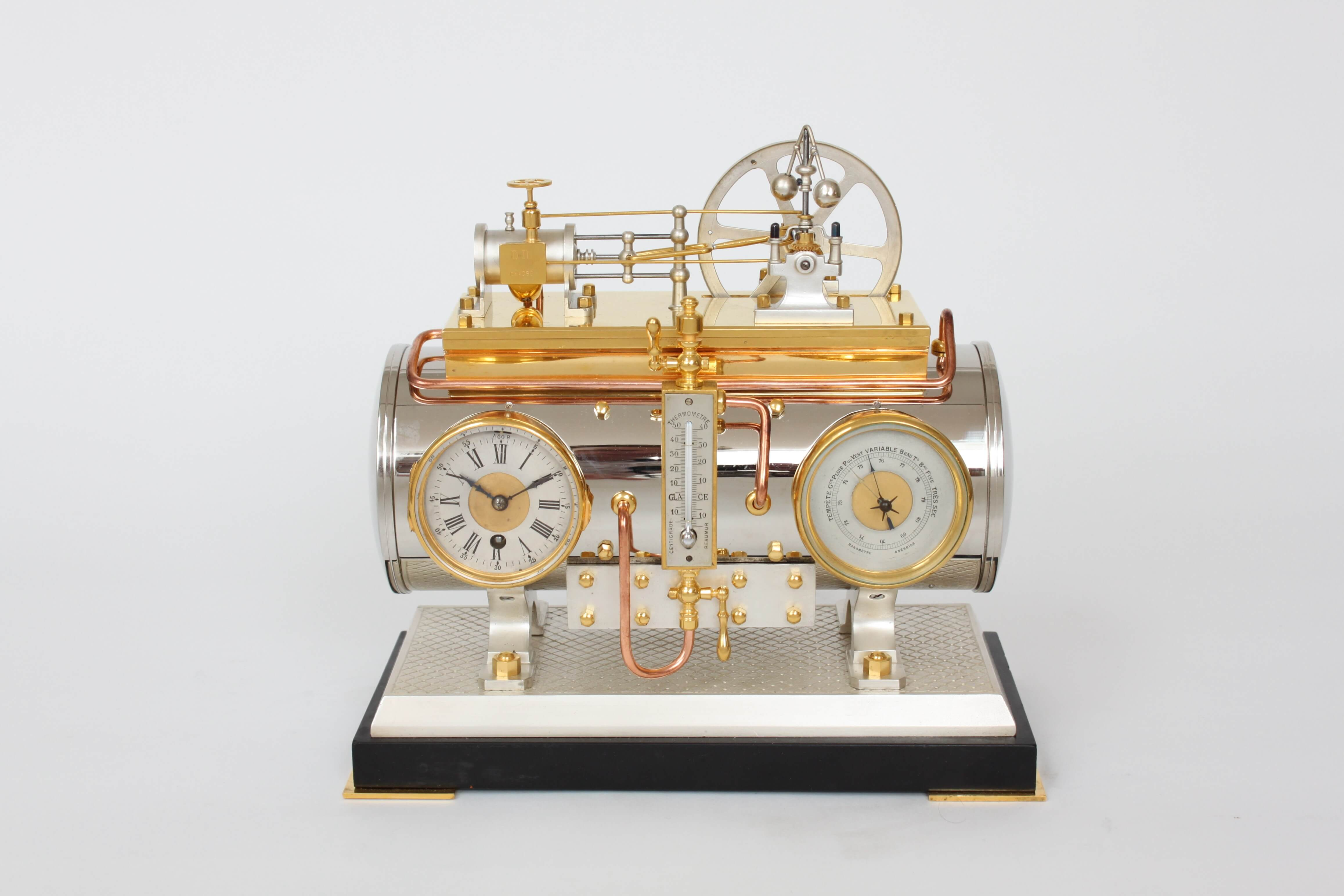 French-industrial-antique-clock-guilmet-boiler-animated-automaton