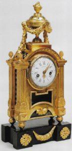 French-antique-clock-ormolu-louis XVI-