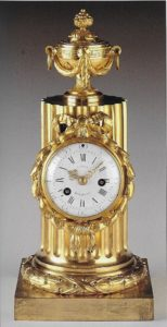 French-Louis XVI-antique-clock-ormolu-classical