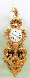 French-Regence-antique-clock-ormolu-gilt- bronze