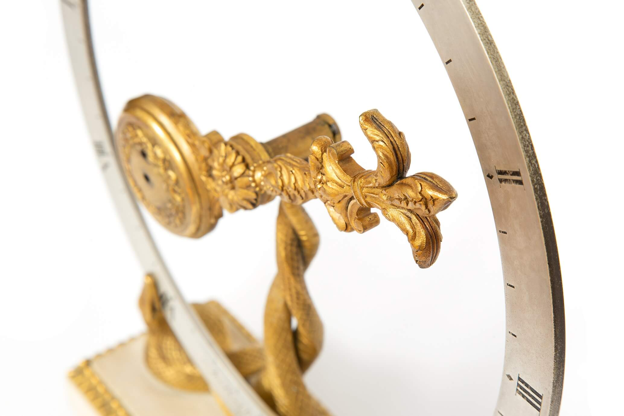 English-gilt-bronze-marble-antique-mystery-clock-frodsham-london-oscillator