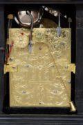 English-miniature-ebonised-antique-table-clock-quarter-repeating-rare-Rimbault-London-