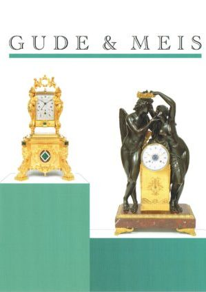Gude & Meis Antique Clock, Clock Stories Catalog Fall 2018.