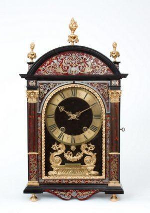 A Fine French Louis XIV Boulle Inlaid 'religieuse' Clock, Gabriel Duval A Paris, Circa 1690