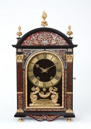 A Fine French Louis XIV Boulle Inlaid 'religieuse' Clock, Gabriel Duval A Paris, Circa 1690