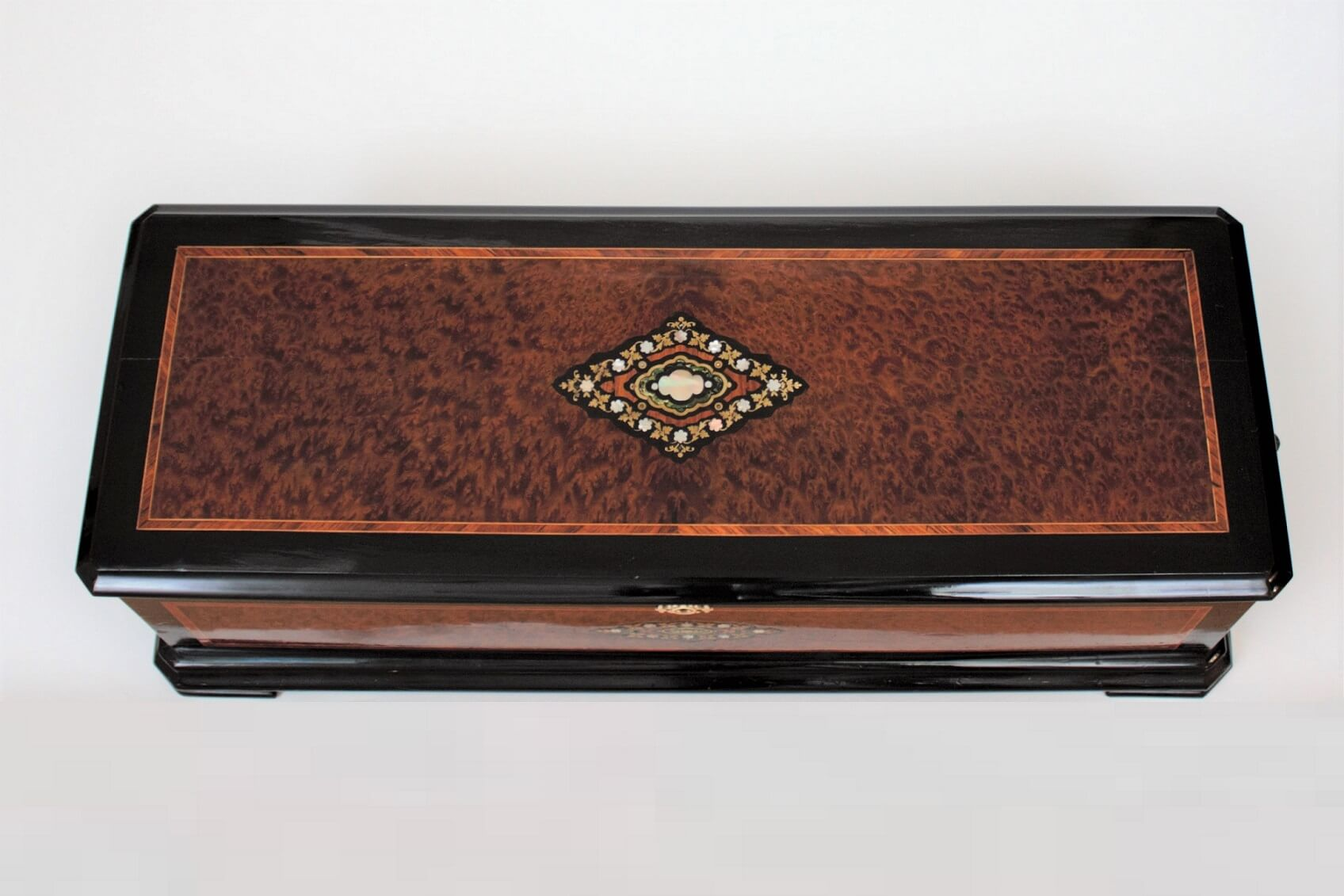 Swiss-geneva-langdorff-music-cylinder-musical-music Box-organum-bariton-