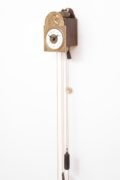 German-Black-Forest-Sorg-miniature-antique-clock-striking-alarm-wall
