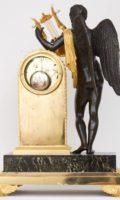French-empire-ormolu-patinated-gilt-bronze-sculptural-antique-mantel-clock-galle-bronzier-paris-apollo-striking