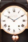 Swiss-Neuchatel-Chaux De Fond-quarter-striking-antique-bracket-clock-console-DuComun