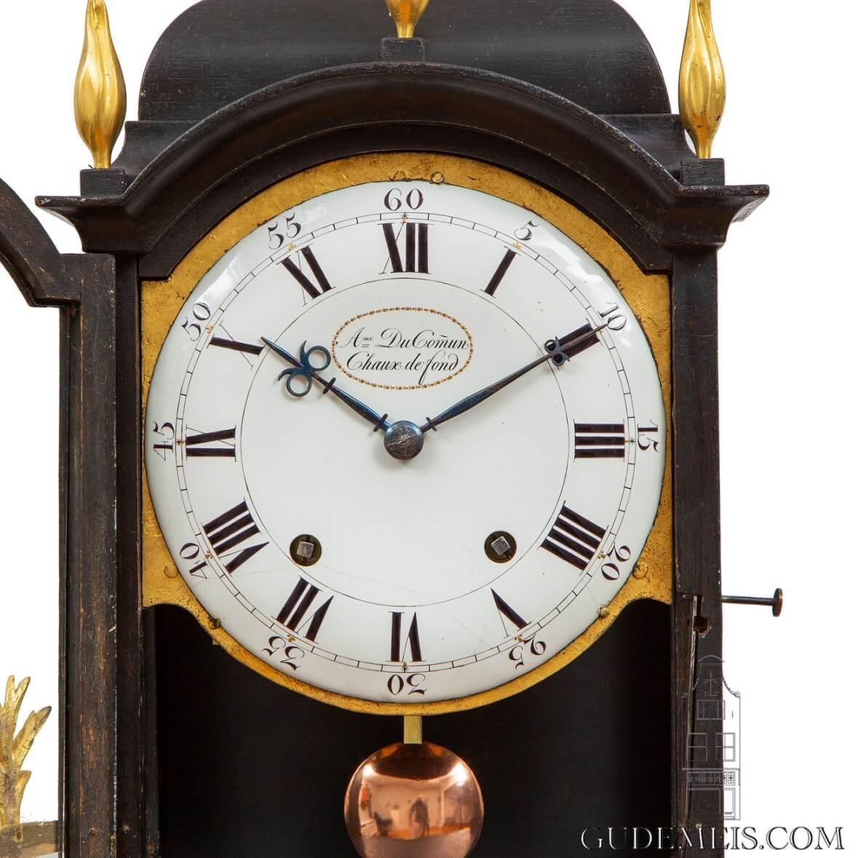 Swiss-ormolu-mounts-chaux Des Fonds-quarter-striking-bracket-clock-DuCommun-
