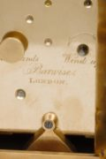 English-engraved-gilt-brass-blue John-carriage-antique-travel-clock-London-barwise-cole-