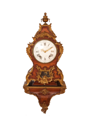 French-Antique-clock-Frederic Duval A Paris-Rosewood-cartel-ormolu-bronze Ormolu-louis XVI-2