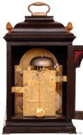 Dutch-ebonised-striking-table-clock-calendar-moonphase-antique-clock-Vrijthoff-the Hague