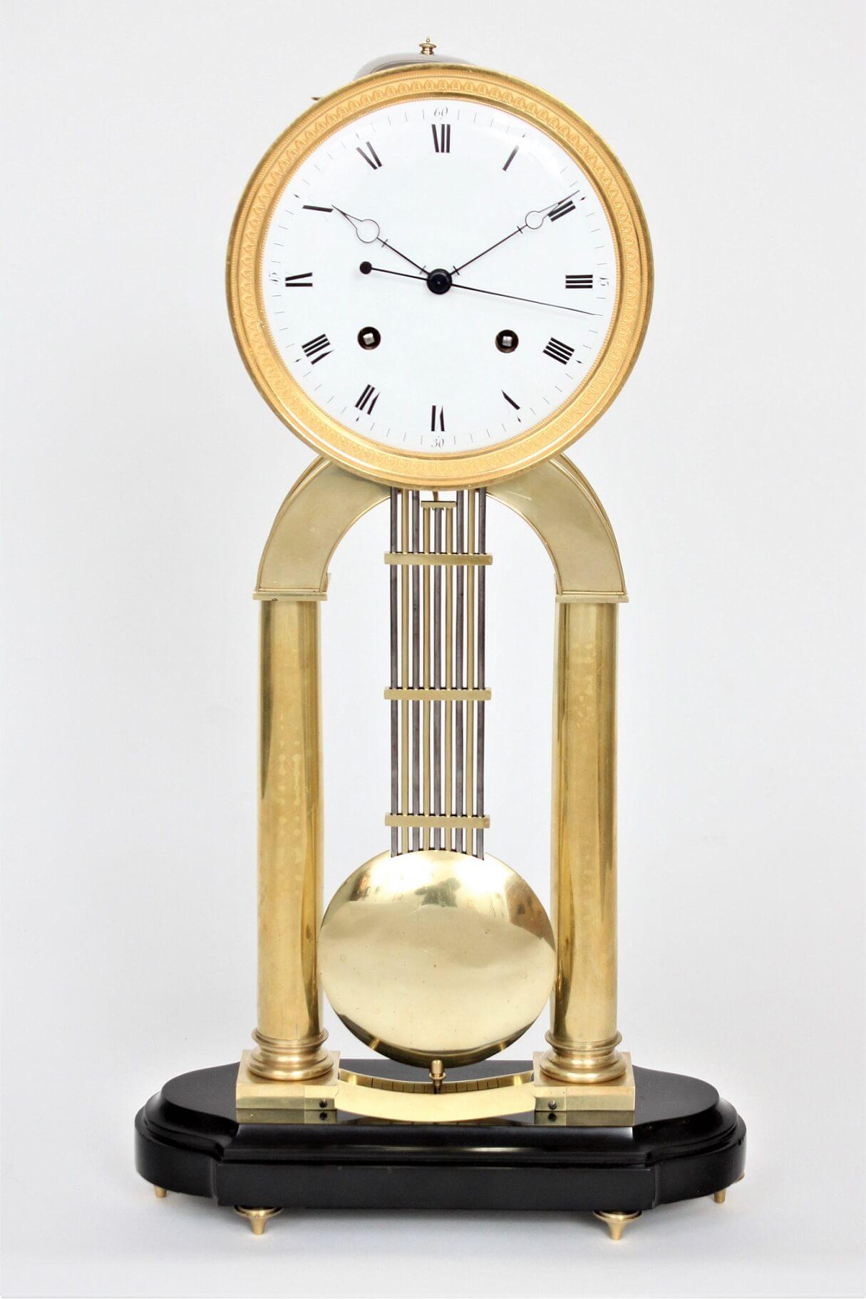 Belgian-French-ormolu-brass-skeleton-regulator-striking-marble-precision-antique-clock-sarton-liege-luik-