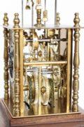 Japan-Japanese-yagura-dokei-lantern-striking-alarm-calendar-antique-stand-antique--clock-