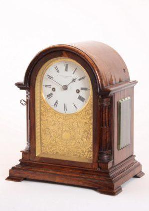 Een Kleine Engelse Palissander Tafelklok, Charles Frodsham, Circa 1850