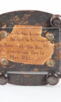 English-british-brass-victorian-neo-gothic-skeleton-balance-antique-clock-