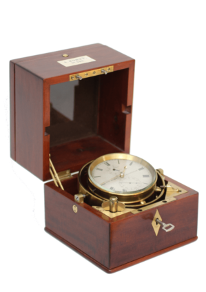 Hohwü-chronometer-Dutch-Amsterdam-navigation-longitude-precision-antique-clock-marine-