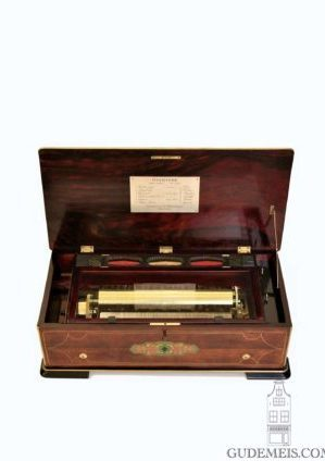 Swiss-Greiner-Bremond-Geneva-operatic-ouverture-cylinder-music-box-musical-rosewood-marquetry-mechanical-music