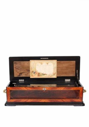 Swiss-Paillard-PVF-Geneva-rosewood-musical-mechanical-music-sublime-harmony-tremolo-zither-cylinder-music-box-