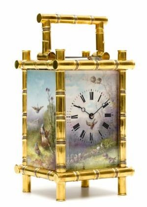 French-gilt-brass-bamboo-case-porcelain-sevres-striking-repeating-antique-carriage-travel-clock-