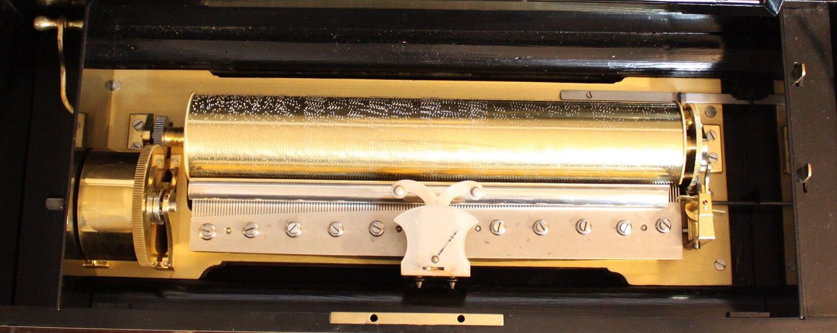 monumental-Swiss-Geneva-Conchon-mandoline-quatuor-cylinder-music-box-musical-animated