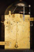 English-ebonized-brass-mounted-Dutch-striking-alarm-moonphase-date-bracket-table-antique-clock-Smith-London-