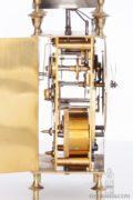 French-Swiss-brass-striking-alarm-repeating-capucine-travel-antique-clock-