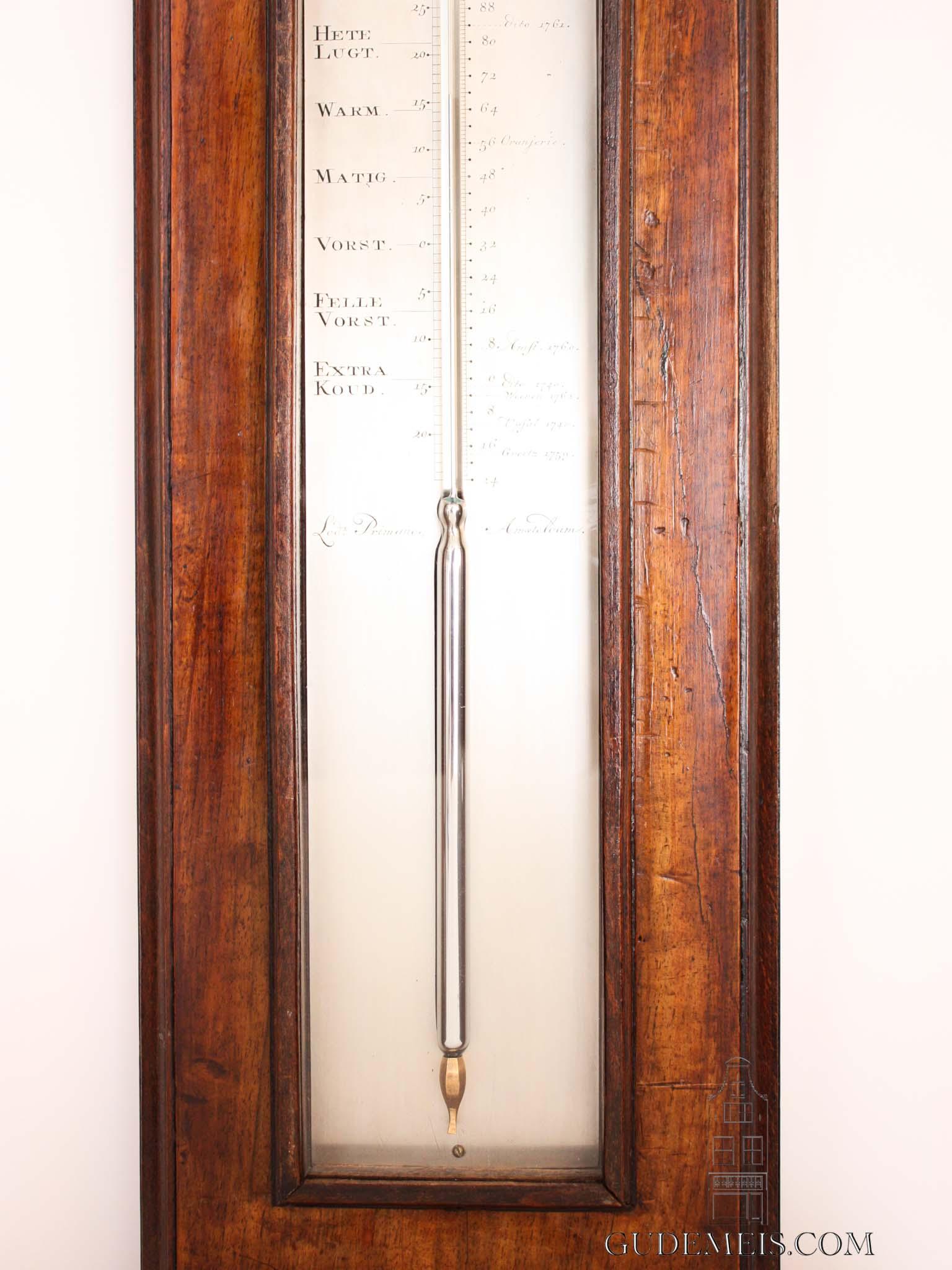 dutch-louisxv-mahogany-silvered-brass-plates-Amsterdam-wheel-barometer-primavesi-