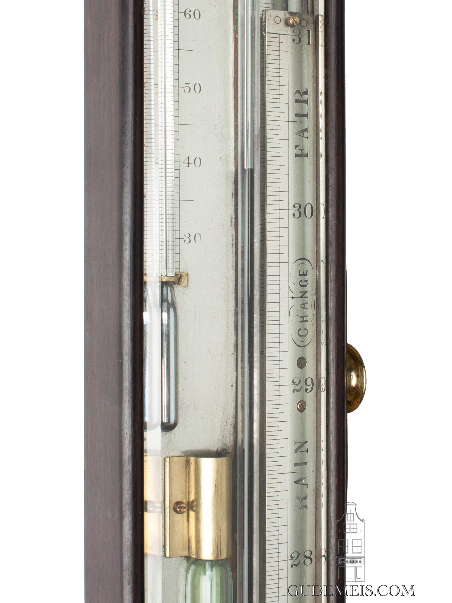 English-Adie-mahogany-marine-thermo-barometer-sympiesometer-mahogany-prenobscot-silvered-brass-plates-thermometer-