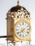 French-miniature-brass-lantern-alarm-bedroom-antique-lantern-clock